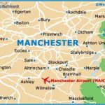Maps of Manchester, University of Manchester: Map of Manchester