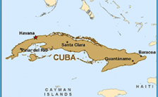 Florida To Cuba Map.Florida Cuba Map Archives Travelsfinders Com