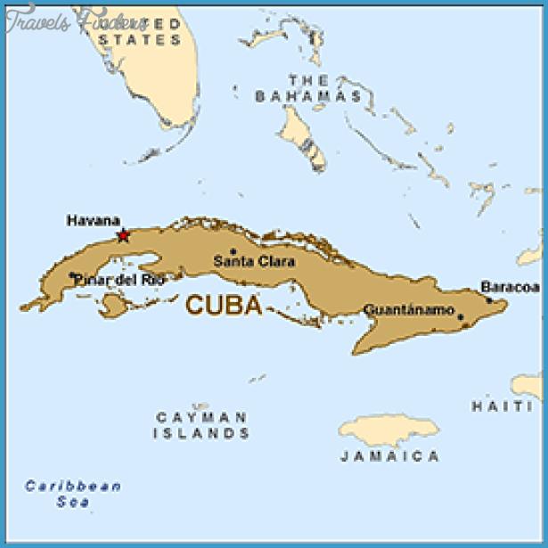 Cuba Map Travel Map Vacations TravelsFindersCom - Map of cuba