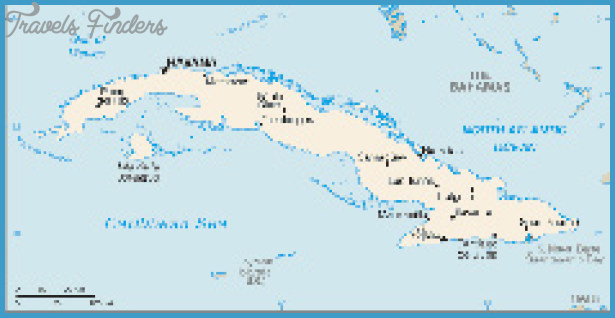 Cuba Map Tourist Attractions – Cuban Tourist Attractions Map