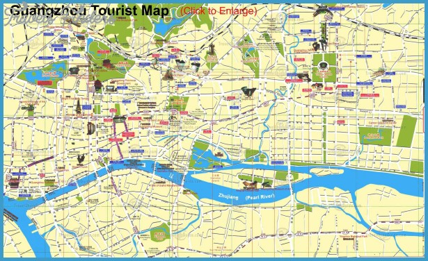 map of guangzhou Mexico City Map Tourist Attractions