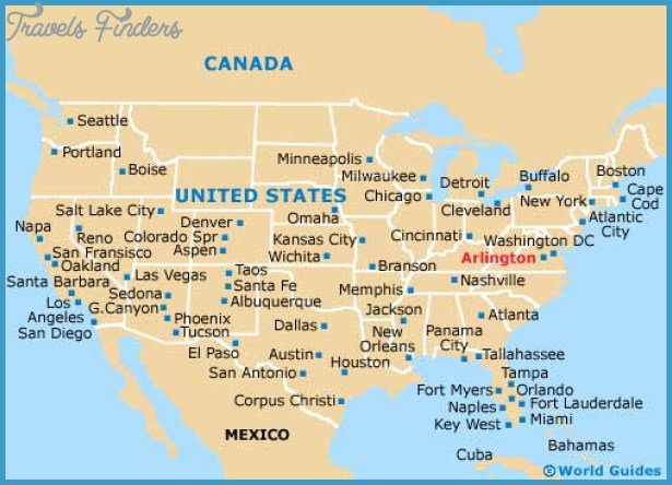 Arlington Maps and Orientation: Arlington, Virginia - VA, USA