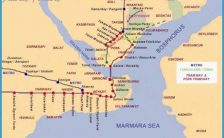 Istanbul Subway Map 2015.Istanbul Metro Map 2015 Pdf Archives Travelsfinders Com