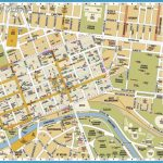 Melbourne Tourist Map • View Info On Melbourne Tourist Map Australia