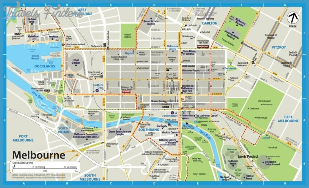 melbourne-city-map
