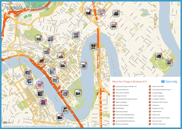 Melbourne Map Tourist Attractions – Melbourne Map For Tourist