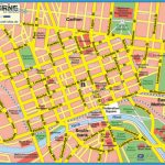 Melbourne Tourist Map See map details From www.gewex.org