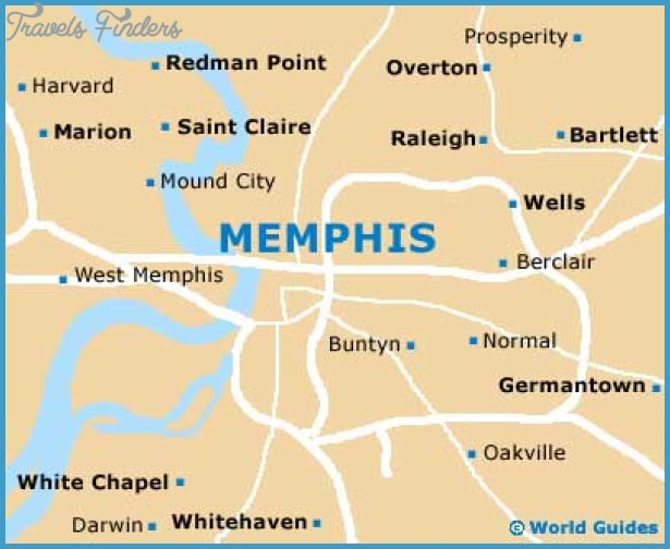 Memphis Maps and Orientation: Memphis, Tennessee - TN, USA