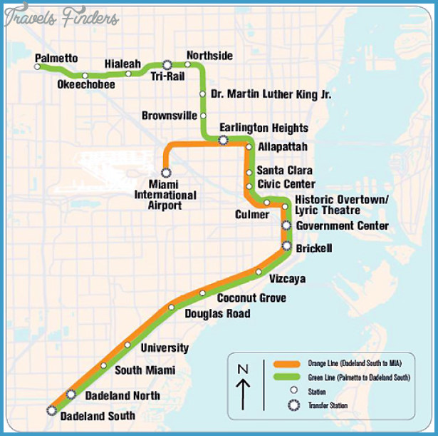 hialeah metro map - travelsfinders