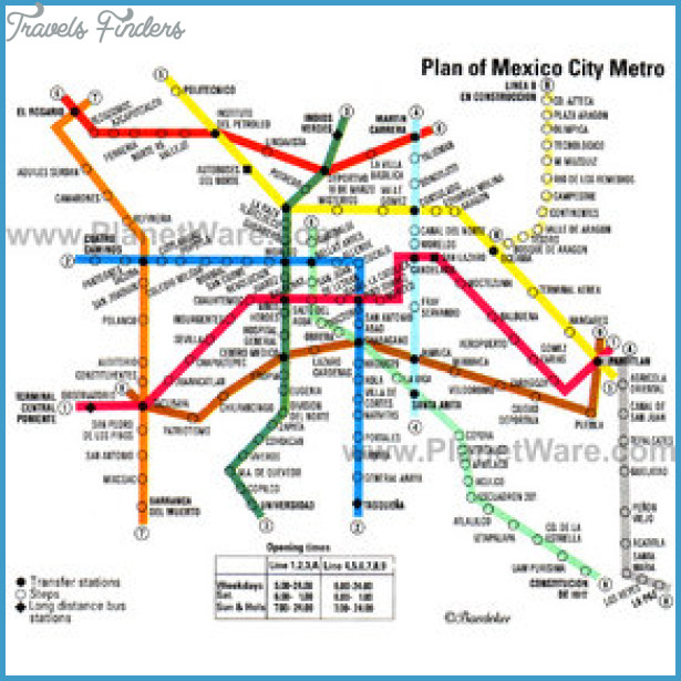 Mexico City Map Tourist Attractions_7.jpg