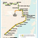 official map miami dade metrorail system miami s metrorail just