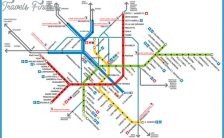 Milan Subway Map.Milan Subway Map Travelsfinders Com