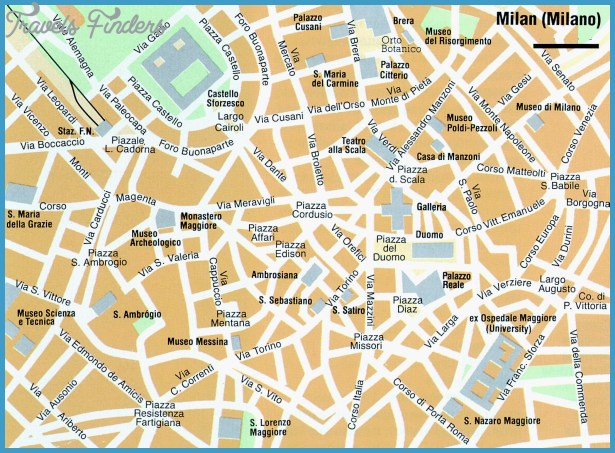 map of milan milan italy europe