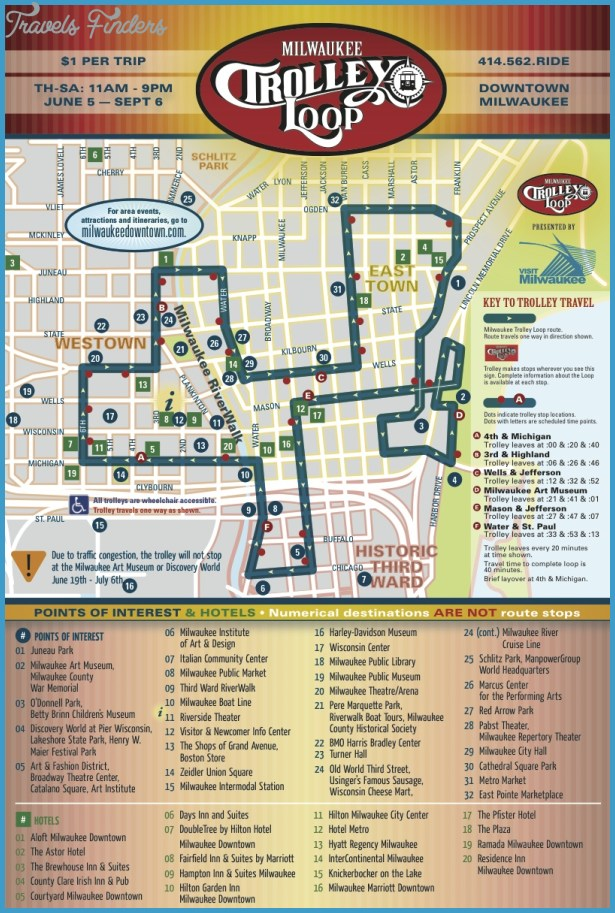 Milwaukee Map Tourist Attractions – Tourist Attractions Map In Milwaukee