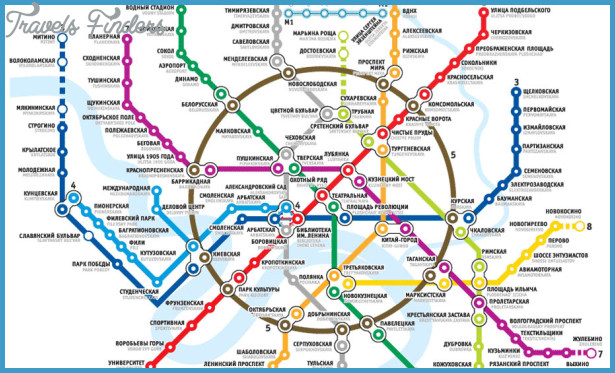 Subway Map Paris English.Moscow Metro Map Travelsfinders Com