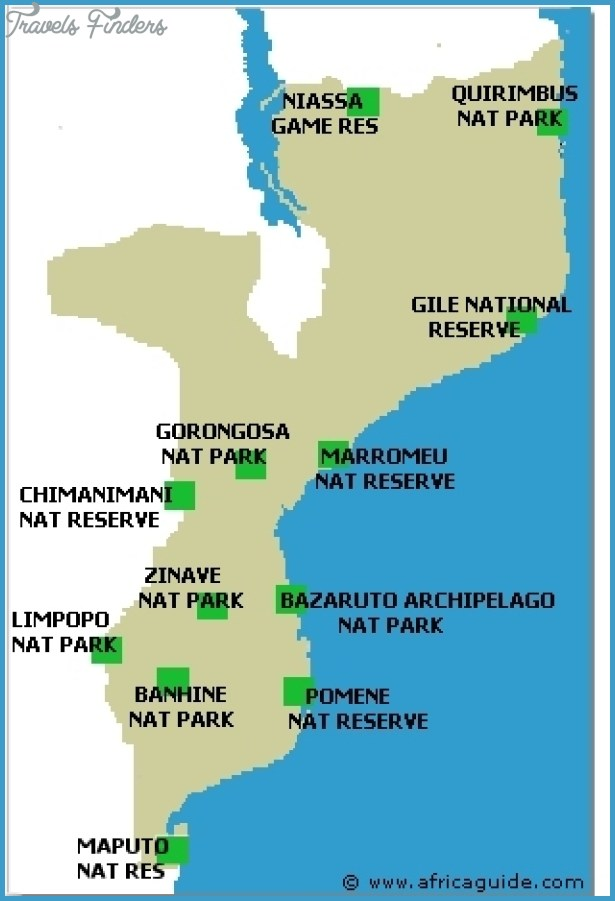 Mozambique National Parks and Tourist Attractions | VictoriaFalls24