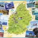 Mauritius Touristic Map