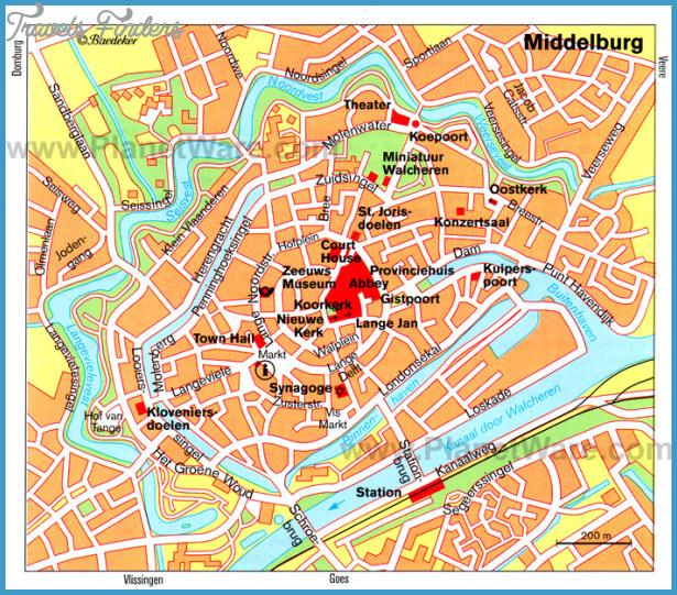 Middelburg Map - Tourist Attractions