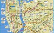 Ny Subway Map Google.New York Subway Map Google Archives Travelsfinders Com