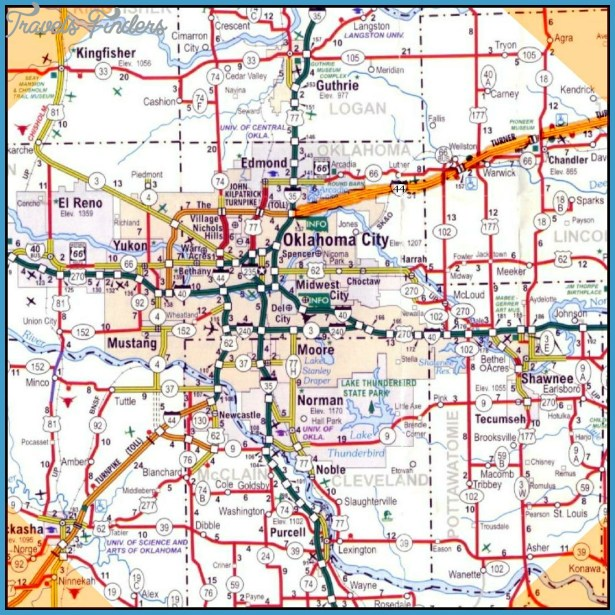 greater oklahoma city zip code map3 travel map vacations
