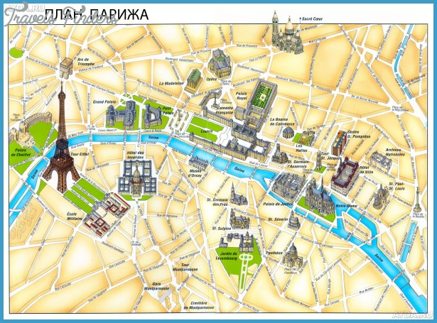 click to on photo for next paris map tourist attractions images