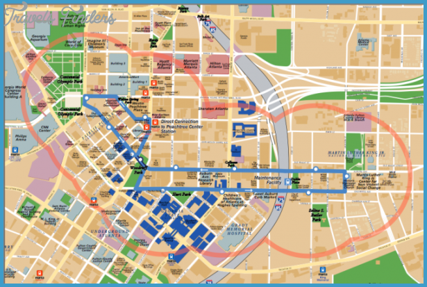 Atlanta Map Tourist Attractions – Atlanta Tourist Attractions Map
