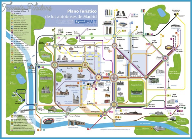 Plano Map Tourist Attractions