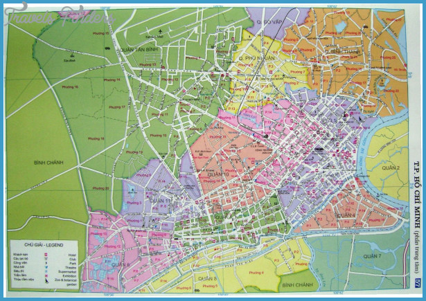 Ho Chi Minh City Map – Tourist Map Of Ho Chi Minh City