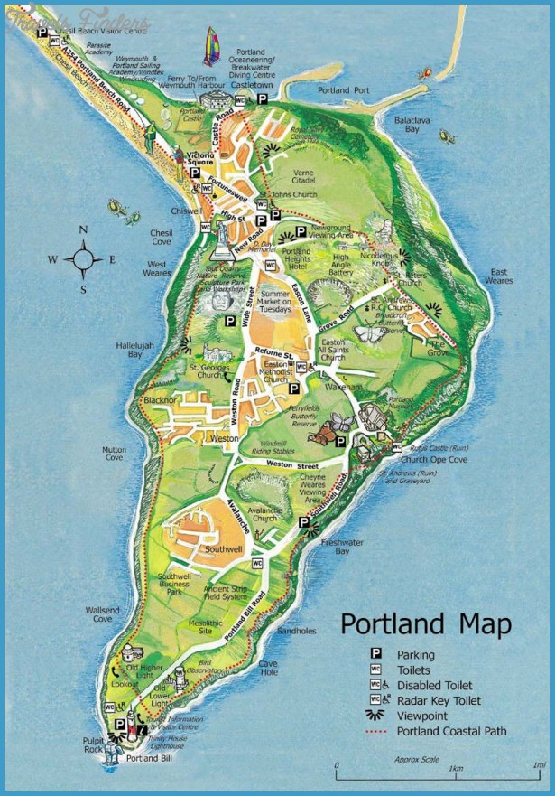 Portland Map Tourist Attractions – Portland Tourist Attractions Map