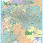 Gauteng Metro Area Wall Map - Map Studio
