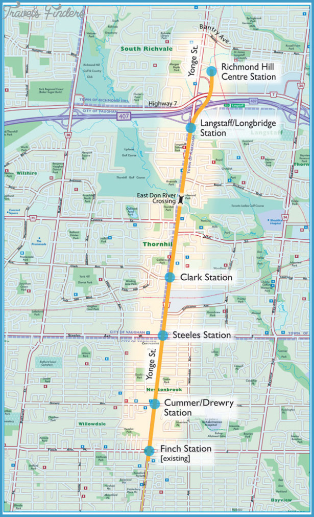 Richmond Subway Map  Travel  Map  Vacations