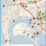 Download a printable San Diego tourist map showing top sights and