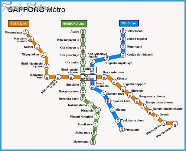 Sapporo Subway Map.Sapporo Subway Map Smoothoperators