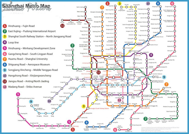 Shanghai Subway Map Pdf