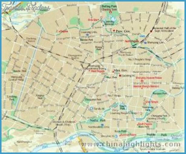 Shenyang Subway Map Travelsfinders Com