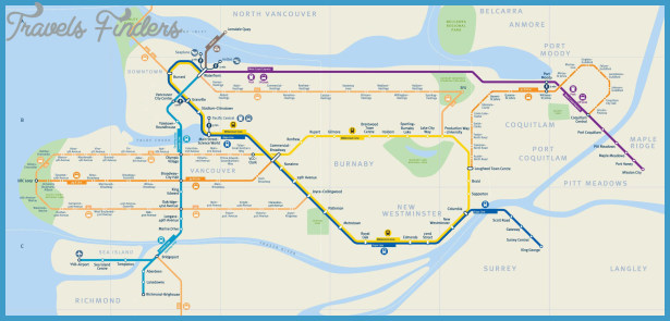 Vancouver Subway Map