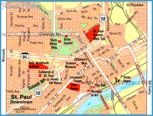 St. Paul Map Tourist Attractions _0.jpg