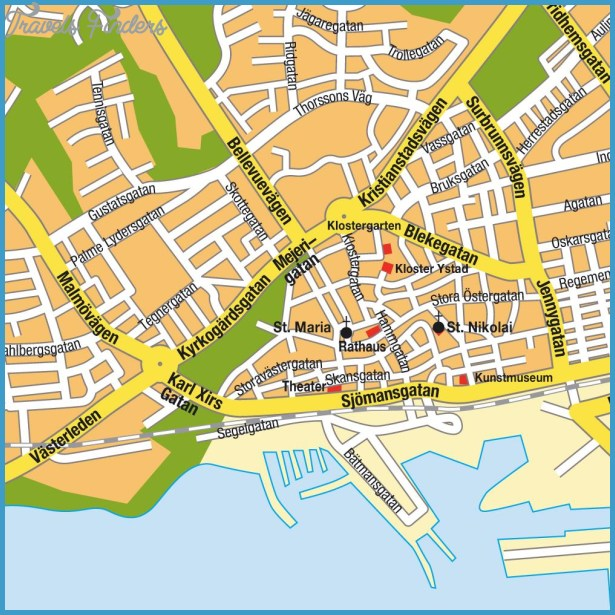 Sweden Subway Map.Sweden Subway Map Travelsfinders Com