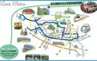 圖片標題: Taichung City Tour Bus Map See map details …