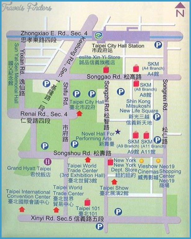 Taiwan Map Tourist Attractions – Taiwan Tourist Attractions Map