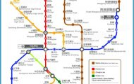 Our Taipei Subway map is diagrammatic, showing Taipei's 8 subway lines