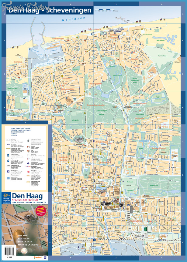 The Hague Tourist Map See map details From denhaag.com Created 11/24 ...