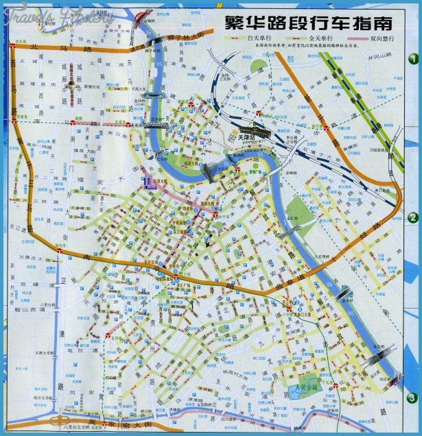 tianjin china map Archives TravelsFindersCom