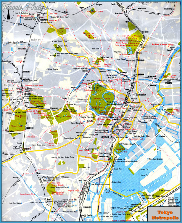 Japan Map Tourist Attractions Travel Map Vacations - Japan map tourist attractions