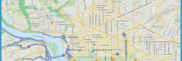 washington dc tourist map with metro stops Archives – Washington Tourist Attractions Map