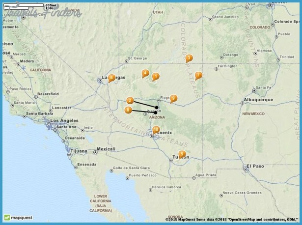 Phoenix Map Tourist Attractions – Phoenix Tourist Attractions Map