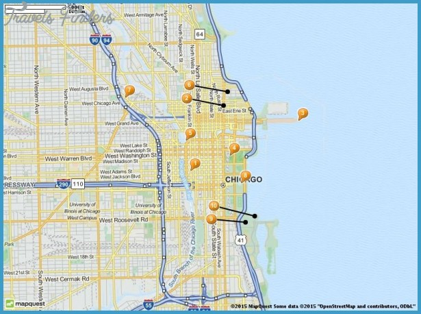 Chicago Map Tourist Attractions – Top Tourist Attractions Map In Chicago