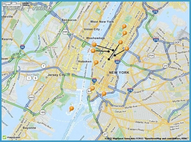 Jersey City Map Tourist Attractions – Tourist Attractions Map In New Jersey