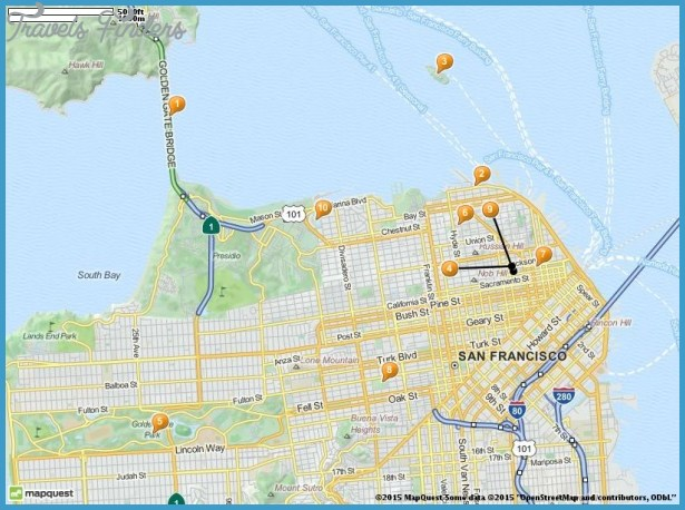 San Bernardino Map Tourist Attractions – Tourist Attractions In San Francisco Map