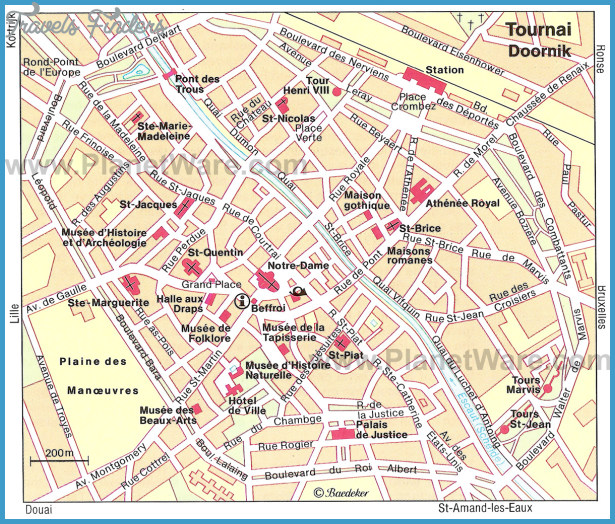 Tournai : a regal city. Tourist information about the city of Tournai